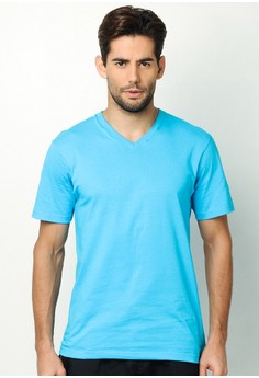 Fusion V-Neck Slim Fit T-Shirt