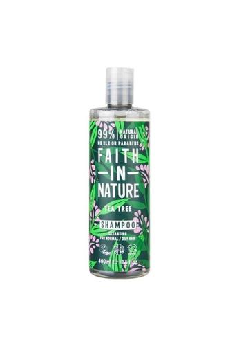 Holland & Barrett Faith in Nature Shampoo Tea Tree 400ml DBABFES9604256GS_1