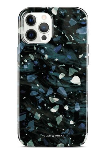 Polar Polar grey Nordic Terrazzo Gem Dual-Layer Tough Case Glossy For iPhone 12 Pro Max F3BA8ACAC14076GS_1