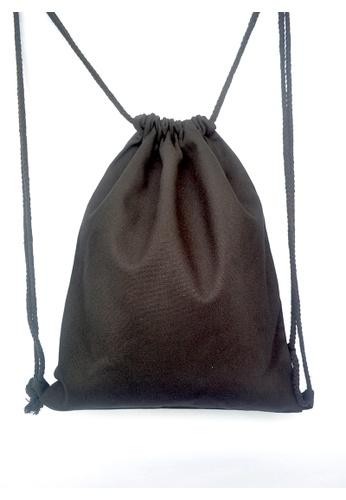 87d91b8ea4e0 Buy The Twinees Black Drawstring Bag Online on ZALORA Singapore