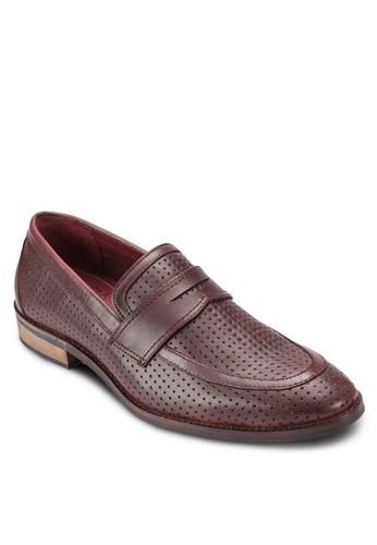 沖孔便士帶樂福鞋, 鞋esprit地址, 鞋