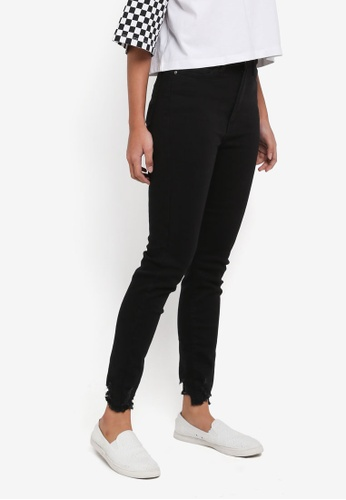 Factorie black The High-Rise Skinny Jeans 86745AAFEC756BGS_1