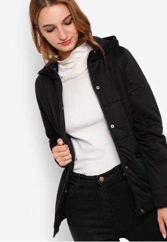 女esprit台灣門市性休閒風附襯修身外套, 服飾, 外套