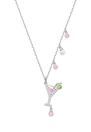 541fb2a99c7d Buy Swarovski No Regrets Cocktail Pendant Necklace Online on ZALORA  Singapore