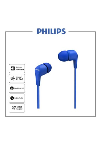 Philips multi Philips TAE1105BL Blue In-ear wired headphones / Earphone TAE 1105 FDD59ESDC99275GS_1