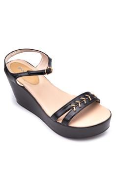 Ariella Wedge Sandals