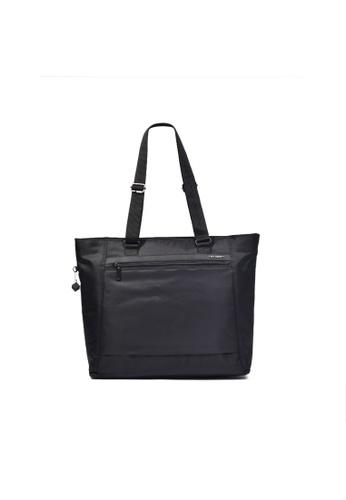 Hedgren black Hedgren Elvira Large 15'' Tote RFID Bag Black-14.1L 3FFA6ACC0E3512GS_1