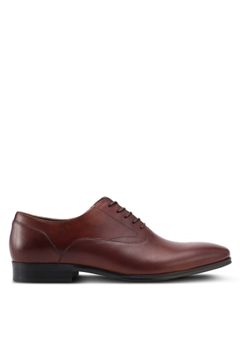 ALDO brown Rosweli Business & Dress Shoes 046AESHB7F3559GS_1
