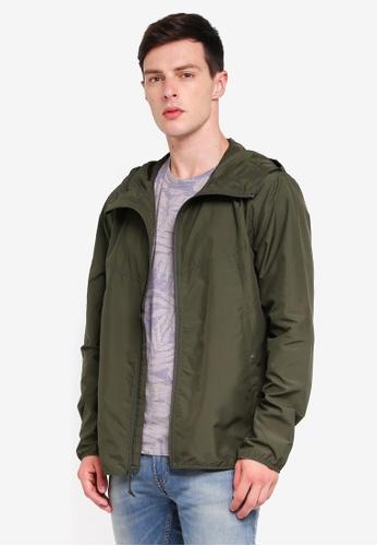 Herschel 綠色 風衣外套 A01F8AAA6675FBGS_1