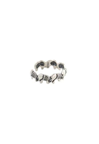 OrBeing white Premium S925 Sliver Geometric Ring 1EAF4AC88B710FGS_1