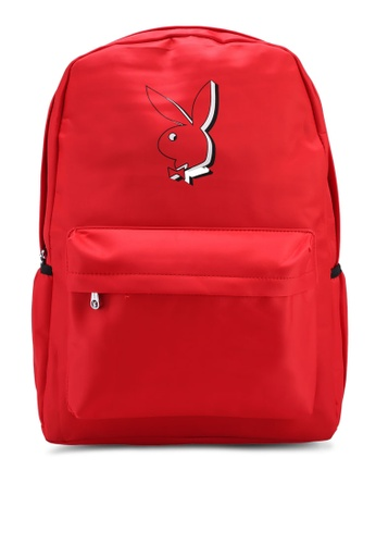Playboy red Playboy Backpack 04EEFACE73368DGS_1