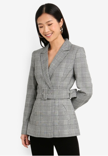 Forever New multi Simone Belted Blazer BC076AA8A254A8GS_1