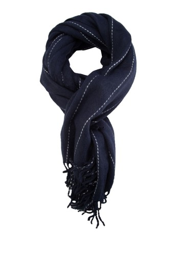 細條紋流蘇圍巾esprit tw, 飾品配件, 披肩