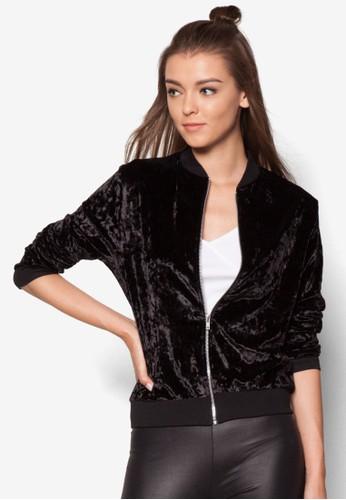 天鵝絨棒esprit taiwan球外套, 服飾, 外套