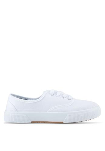 Rubi white Ellis Plimsoll Sneakers RU506SH0SL4WMY_1