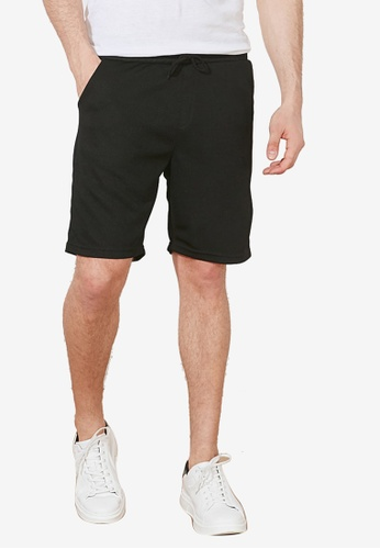 Trendyol black Regular Fit Bermuda Shorts 2BD37AA221576CGS_1