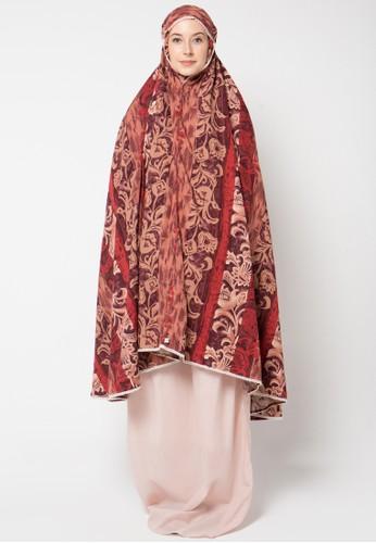 Aira Muslim Butik red Cameron Prayer Set AI892AA40OYXID_1