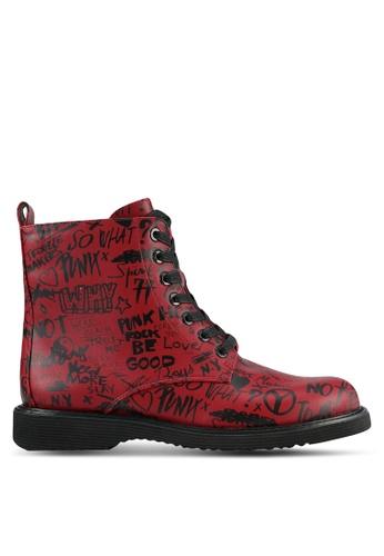 ALDO red Cadirwen Boots AL087SH0RYHAMY_1