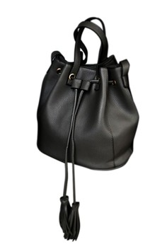 Fringed Sleekness 2-Way Bucket Bag