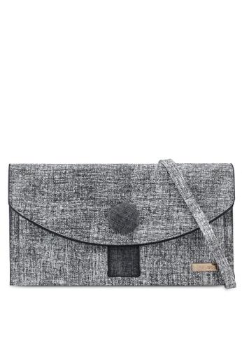 Playboy grey Playboy Clutch Bag C8A10AC123395AGS_1