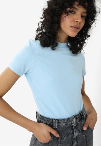PIMKIE blue Basic T-shirt BA26EAA0B6122FGS_1