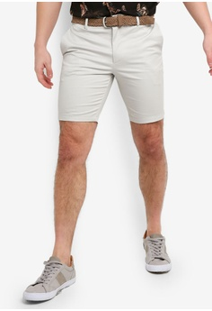 eeacc41677 River Island beige Axis Belted Shorts Pebble 0B9FEAA0296D91GS 1