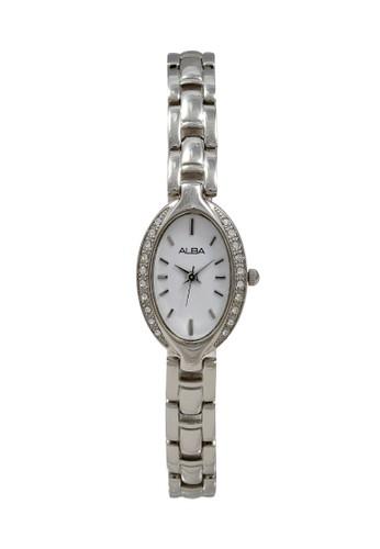 Alba silver ALBA Jam Tangan Wanita - Silver White - Stainless Steel - AC3R75 E6E5FACF48B88AGS_1