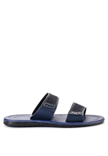 CARVIL navy Carvil Sandal Casual Men Apparel-02 M Navy FA55ASHA9F04E6GS_1