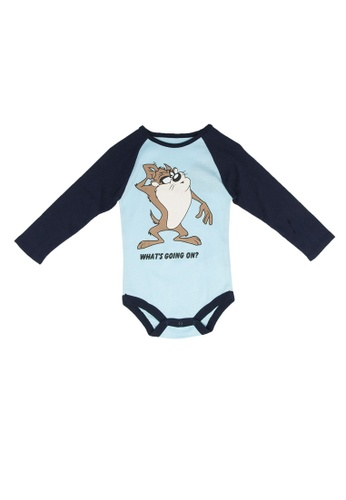 FOX Kids & Baby blue Long Sleeve Bodysuit C33BBKAF456F46GS_1