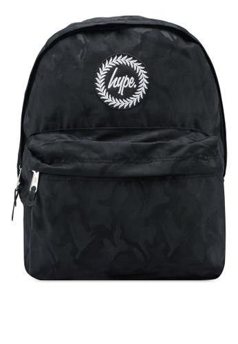 Just Hype black Camo Backpack 9FC06ACD878187GS 1. CLICK TO ZOOM 5e17508a31baa