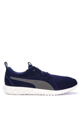 Puma blue and multi Carson 2 Training Shoes 4DB12SH81FC845GS_1