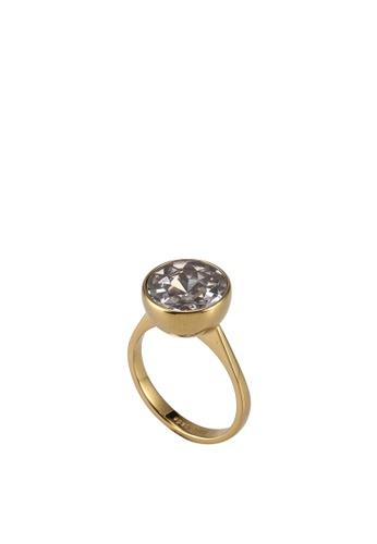 kate spade new york gold Reflecting Pool Ring (cv) 1DF1AAC377BAA8GS_1