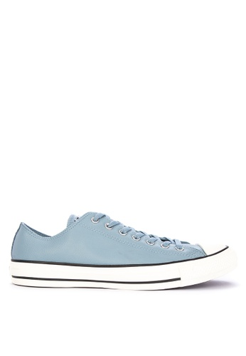 Converse blue Chuck Taylor Post Game Leather Sneakers B07F5SH838509FGS_1