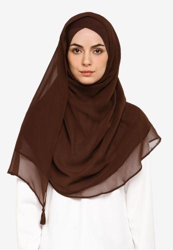 Bokitta brown Soil Instant Hijab EC7F6AA1E769B0GS_1