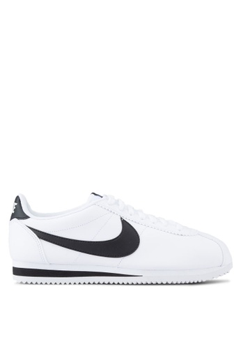 Nike white Nike Classic Cortez Leather Shoes NI126SH0KPR2PH_1
