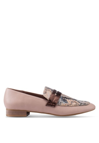 VANESSA WU 粉紅色 Myra Loafers 57E65SH8C867A7GS_1
