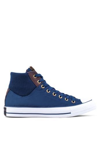 Converse blue CT AS MA-1 Zip Hi Men's Sneakers CO302SH25YWKSG_1