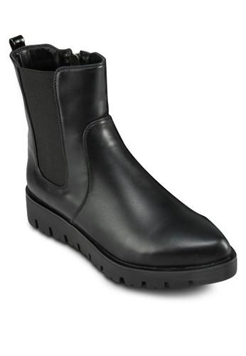 簡約尖頭踝靴, esprit 尖沙咀女鞋, 鞋