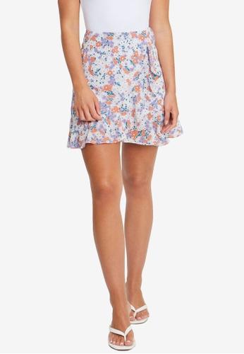 Tussah multi Aries Mini Skirt EEFF1AA19CFBC1GS_1