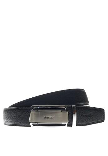 Grandir black Grandir Pro Sesto Col.01 Belt 3.65 R - Silver Black C5119AC15645BBGS_1