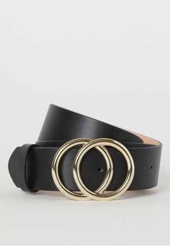H&M black Wide belt 771CEAC11B9E49GS_1