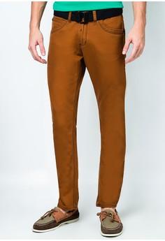 Twill Pants Slim Fit