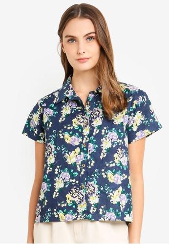 Cotton On Body blue Woven Shirt B800AAAF214E9EGS_1