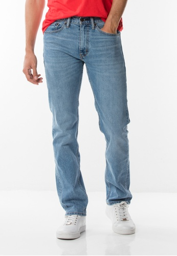 Levi's blue Levis® 505™ Regular Fit Jeans 8D3FBAA8D72E96GS_1