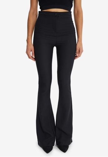 Trendyol black Flare Pants F08F1AA9F705B5GS_1