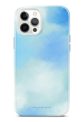 Polar Polar 藍色 春之彩雲雙層光面手機殼 iPhone 12 Pro Max 5D024ACEEA2DE3GS_1