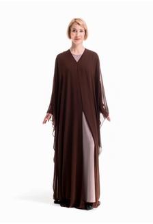 fc761cd3161ac Pomelo Longsleeve Boho Maxi Dress - Red RM 159.00  Caftan Chiffon SARA ...