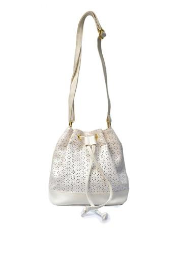 HDY white Eliza Bucket Bag HD484AC0KTJ0PH_1