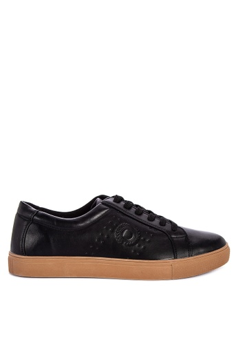 BENCH black Lace Up Sneakers 4928FSHAC9F4B6GS_1