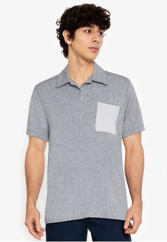ZALORA BASICS multi Contrast Pocket Polo Shirt 91331AAC13A35EGS_1